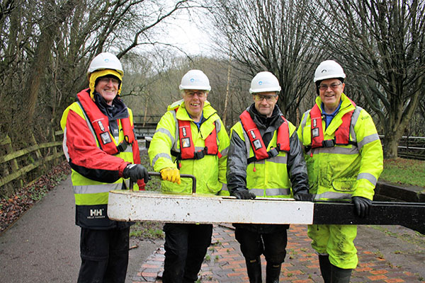 14 January: Caldon Canal Works Volunteer Group