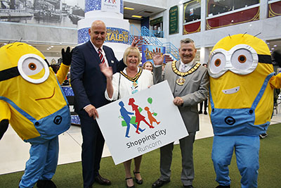 Launch of Runcorn 'Shopping City'
