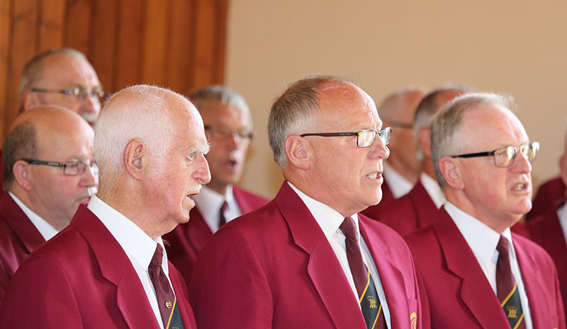 North Cheshire's award-winning Highfield Male Voice Choir