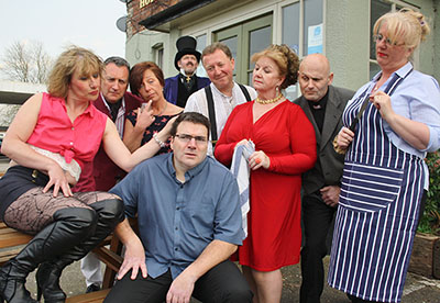 30 April: Kingsley Players make a 'Grand Gesture' – black comedy on stage, May 17- 20