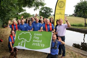 20 July: Montgomery Canal picks up prestigious Green Flag award