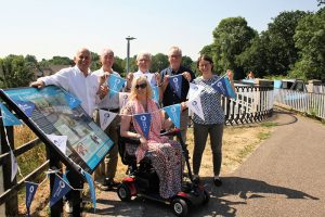 11 July: Nantwich Canal history revealed in new interpretation panels at historic aqueduct
