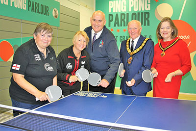 24 September: Get active at Runcorn Shopping City's new Ping Pong Parlour