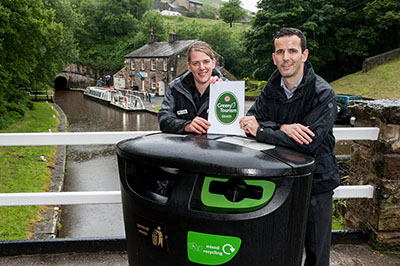 29 June: Standedge Visitor Centre wins 'Green Award'