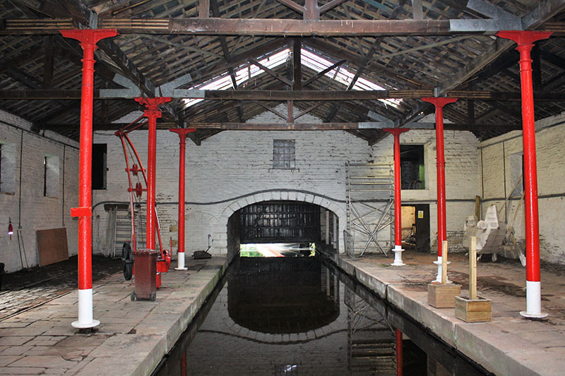 Canal warehouse given new lease of life