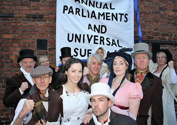 11 April: Kingsley Players premiere 'Peterloo'